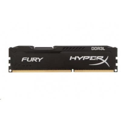 8GB 1600MHz DDR3L CL10 DIMM 1.35V HyperX FURY Black