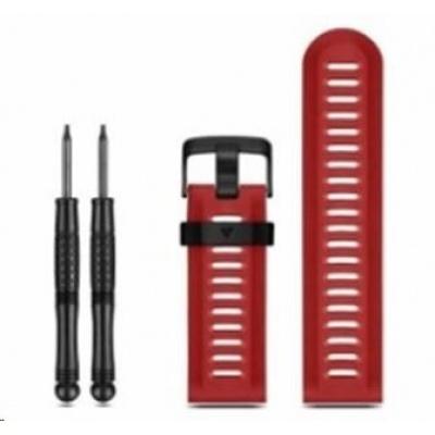 eses silikonový řemínek dírkovaný červený pro garmin fenix 3/5x/5x plus/5x sapphire/3hr