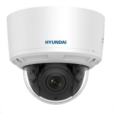 HYUNDAI IP kamera 4Mpix, H.265+, 25 sn/s, obj. 2,8-12mm (100°), PoE, audio, DI/DO, IR 30m, WDR 120dB, mSD, analyt, IP66