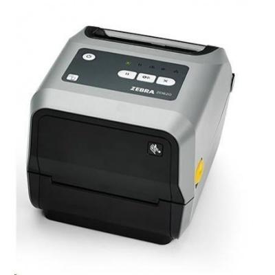 "Zebra TT tiskárna etiket ZD620t 4"" 300 dpi, USB, USB Host, RS232, LAN, 802.11, BT ROW"