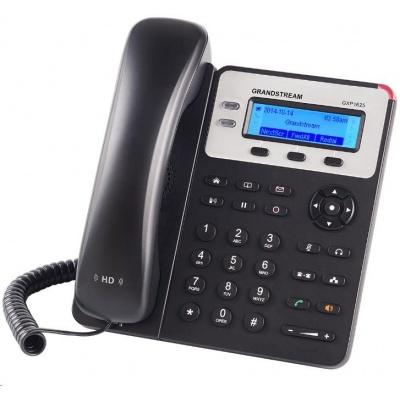 Grandstream GXP1620 [VoIP telefon - 2x SIP účet, HD audio, 3 program.tlačítka, switch 2xLAN 10/100Mbps]