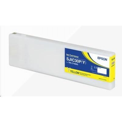 Epson ink cartridge, yellow, glossy
