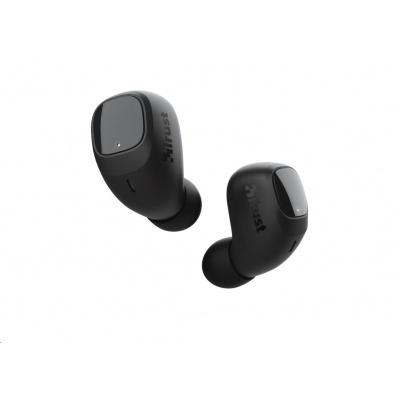 TRUST sluchátka Nika Compact Bluetooth Wireless Earphones - black