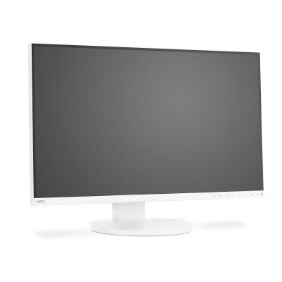 """NEC MT 27"""" LCD MuSy EA271Q, PLS TFT W-LED, 1000:1, 350cd, 6ms, 2560x1440 QHD, White, USB, audio  3-sided narrow bezel,"""