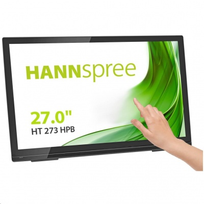 "HANNspree MT LCD HT273HPB 27"" Touch Screen Monitor 1920x1080, 16:9, 300cd/m2, 1000:1 / 80M:1, 8 ms"