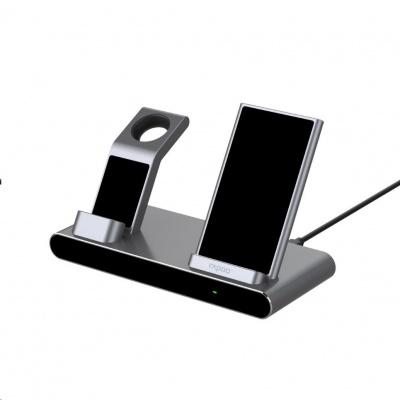 RAPOO nabíjecí stanice XC600 3in1 Wireless Charging Station Silver