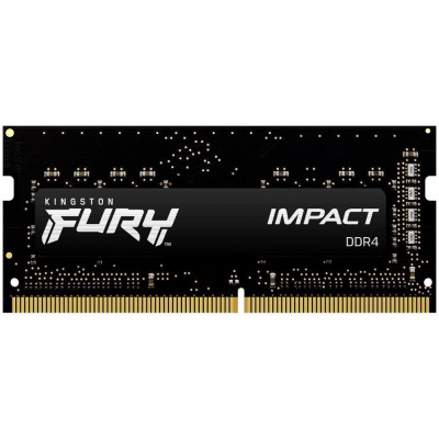 SODIMM DDR4 8GB 2666MHz CL15 KINGSTON FURY Impact