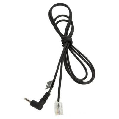 Jabra kabel RJ10 -> 2,5 mm jack, délka 1 m