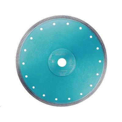 Extol Industrial (8703045) kotouč diamantový řezný turbo Thin Cut, 230x22,2mm, suché i mokré řezání