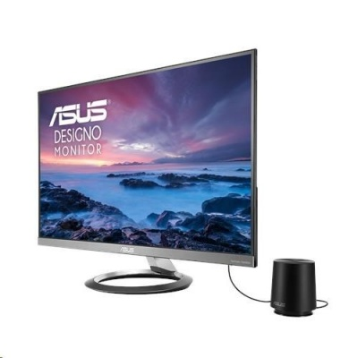"""ASUS LCD 27"""" MZ27AQ Design WQHD 2560x1440 IPS 100% sRGB Ultra-Slim Design Harman Kardon speakers Subwoofer Low Blue"""