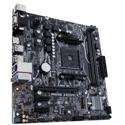 ASUS MB Sc AM4 PRIME A320M-K, AMD A320, 2xDDR4, VGA, mATX