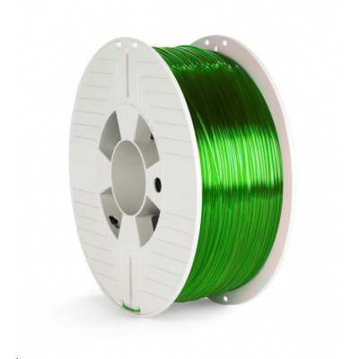 VERBATIM 3D Printer Filament PET-G 1.75mm, 327m, 1kg green transparent