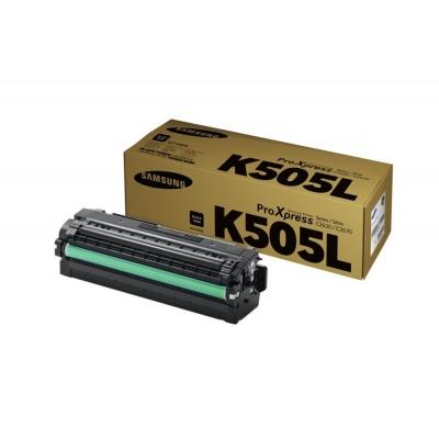 Samsung CLT-K505L H-Yield Blk Toner C