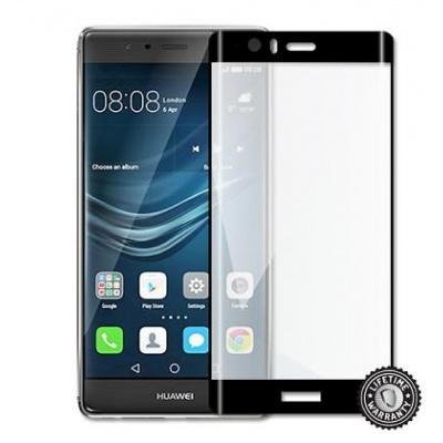 ScreenShield ochrana displeje Tempered Glass pro Huawei P9 Plus VIE-L09, kovový rámeček, černá