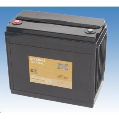 Baterie - CTM CTL 135-12 (12V/135Ah - M6), životnost 10-12let