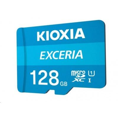 KIOXIA Exceria microSD card 128GB M203, UHS-I U1 Class 10