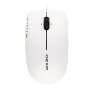 CHERRY myš MC 2000, USB, světle šedá
