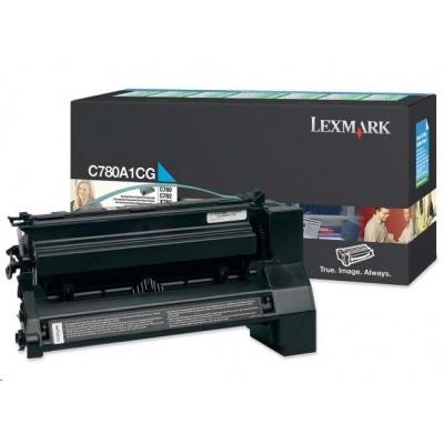 Lexmark toner C780A1KG C780 / C782 6K Black Return Cartridge