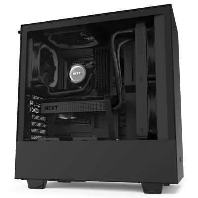 NZXT skříň H510 / ATX / průhledná bočnice / USB 3.0 / USB-C 3.1 / černá