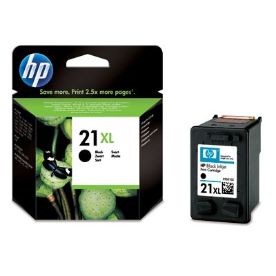 HP 21XL Black Ink Cart, 12 ml, C9351CE