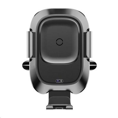 Baseus Smart Vehicle držák a bezdrátová nabíječka do auta 10W (do ventilační mřížky), černá