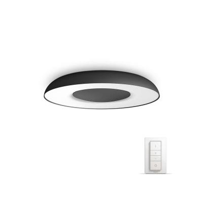 PHILIPS Still Stropní svítidlo, Hue White ambiance, 230V, 1x32W integ.LED, Černá