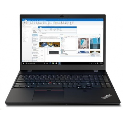 "LENOVO NTB ThinkPad T15p - i7-10750H@2.6GHz,15.6"" UHD IPS,16GB,512SSD,HDMI,IR+HDcam,GeForce GTX1050 3GB,LTE,W10P,3r cc"