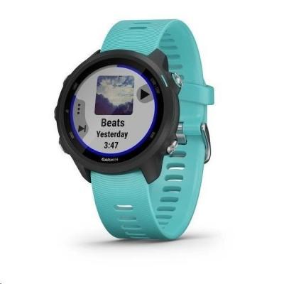 Garmin GPS sportovní hodinky Forerunner 245 Music Optic Blue