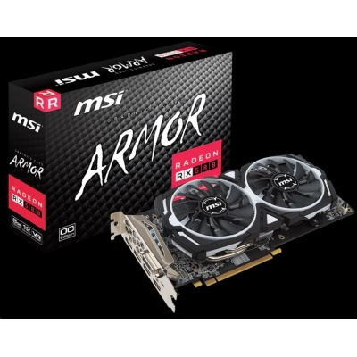 MSI VGA AMD Radeon™ RX 580 ARMOR 8G OC