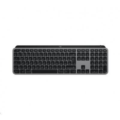 Logitech klávesnice MX Keys for Mac, Advanced Wireless Illuminated Keyboard, US, Space Grey