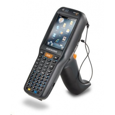 Datalogic terminálSkorpio X4 GUN,WLAN MIMO,BT v4,1GB/8GB,50-Key Full,White illum. 2D ,Win EMB Compact 7,EU