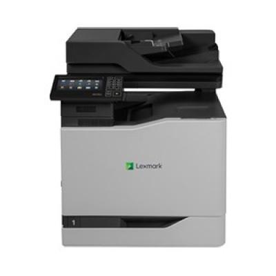 LEXMARK tiskárna CX820de A4 COLOR LASER, 50ppm, 2048MB USB, LAN, duplex, dotykový LCD
