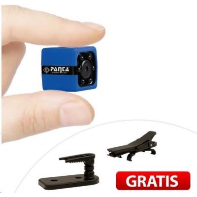 Panta Pocket Cam - Mini kamera, reaguje na pohyb ve dne i v noci (bez SD)