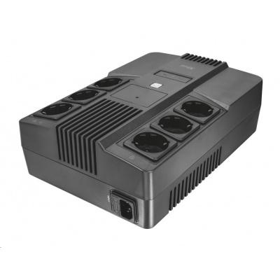 TRUST Záložní zdroj Maxxon 800VA UPS with 6 standard wall power outlets