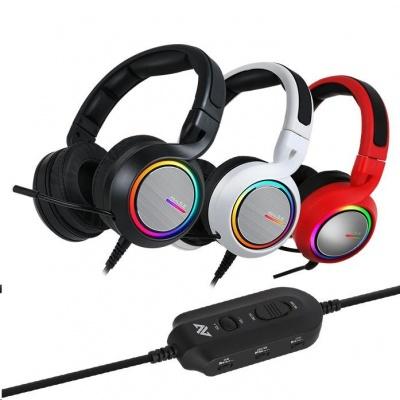 ABKONCORE Herní sluchátka s mikrofonem B1000R REAL, 5.2, černá