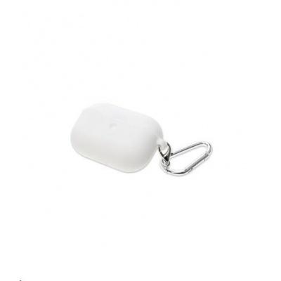 4smarts silikonové pouzdro pro Apple AirPods Pro, bílá