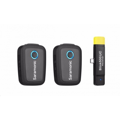 Saramonic Blink 500 B6 (TX+TX+RX UC) - klopový mikrofon, USB-C