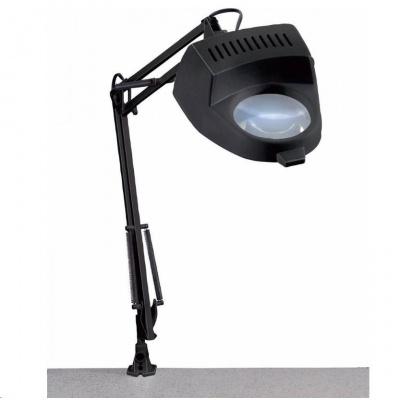 CONRAD Stolní lupa s osvětlením pro připevnění na stůl Toolcraft, 60 W