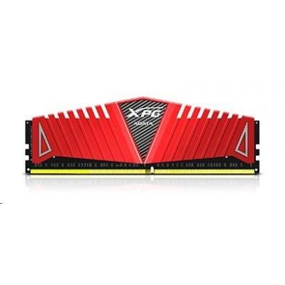 DIMM DDR4 8GB 2666MHz CL17 (KIT 2x4GB) ADATA XPG Z1, 512x8, Red