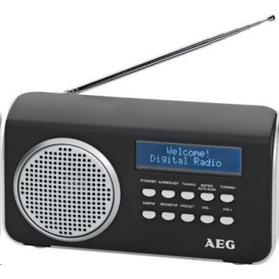 AEG DAB 4130/černý DAB-RDS