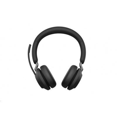 Jabra náhlavní souprava Evolve2 65, Link 380a MS, stereo, černá