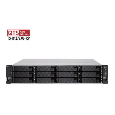 QNAP TS-h1277XU-RP-3700X-32G (8C/Ryzen7 3700X/3,4-4,4GHz/32GBRAM/12xSATA/2xGbE/2x10GbE/2xSFP+/6xUSB3/4xPCIe/RP)