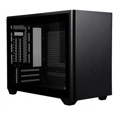 Cooler Master case MasterBox NR200P, mini-ITX, mini-DTX, černá, bez zdroje