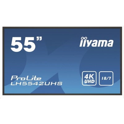 iiyama ProLite LH5542UHS-B1, Android, 139cm (55''), 4K, black
