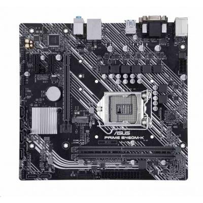 ASUS MB Sc LGA1200 PRIME B460M-K, Intel B460, 2xDDR4, VGA, mATX
