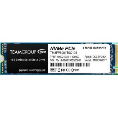 Team SSD M.2 1TB (R:2100, W:1700), MP33 PRO PCI-e Gen3.0 x4 NVMe 1.3