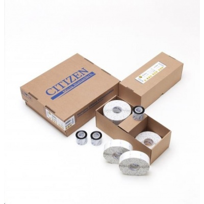 Citizen CABLE PACK, Band, label roll, colour ribbon, resin, 12.7x36.5mm, transparent