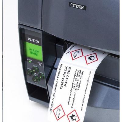 Citizen CHEM PACK, labels, colour ribbon, resin, 74x105mm