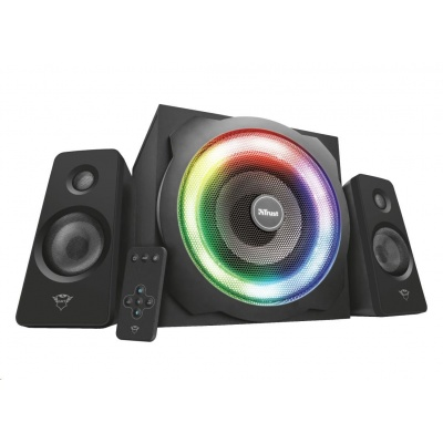 TRUST Reproduktory GXT 629 Tytan RGB Illuminated 2.1 Speaker Set