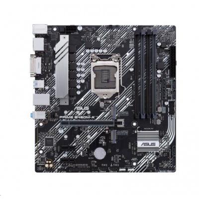 ASUS MB Sc LGA1200 PRIME B460M-A, intel B460, 4xDDR4, VGA, mATX